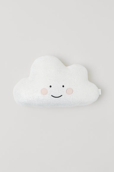 Coussin en velours - Blanc/nuage - Home All | H&M CA