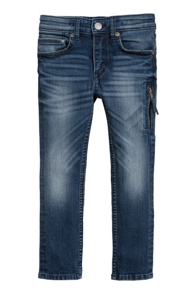 Superstretch Skinny fit Jeans - Bleu denim -  | H&M BE