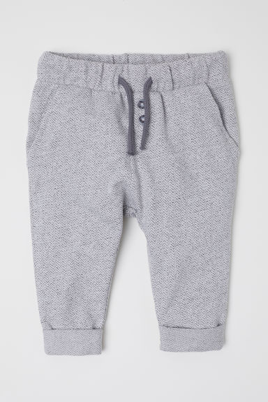 Joggers - Grey/Patterned - Kids | H&M