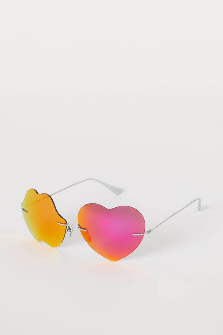Sunglasses with case - Orange/Pink - Ladies | H&M