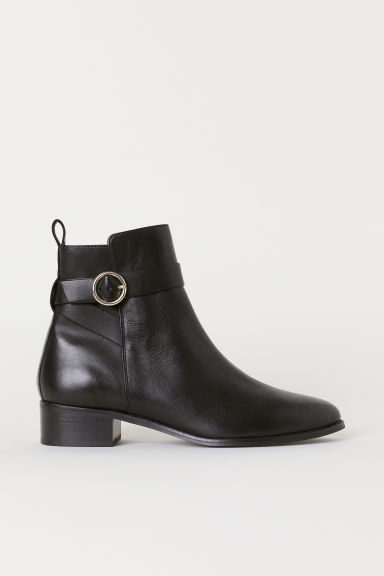 Boots with straps - Black - Ladies | H&M CN