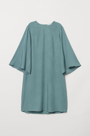 Dress - Dark turquoise - Ladies | H&M CN