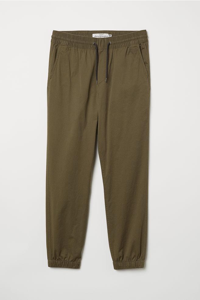 a81c986c7 Pantalon jogger en twill