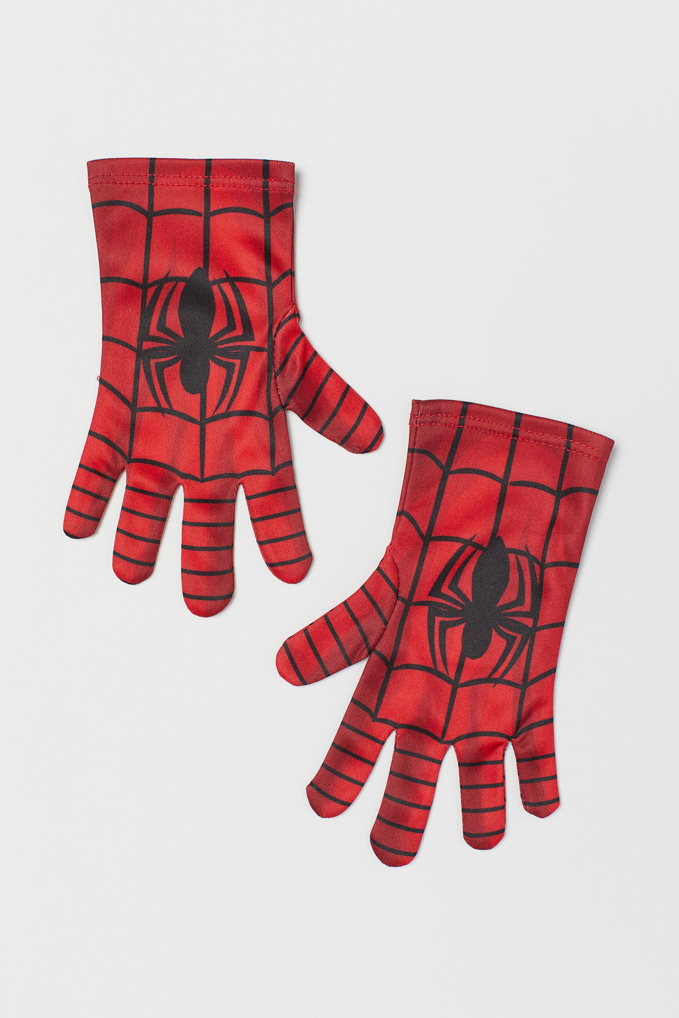 9c39421b3f71 Superhero gloves - Red/Spiderman - Kids | H&M GB