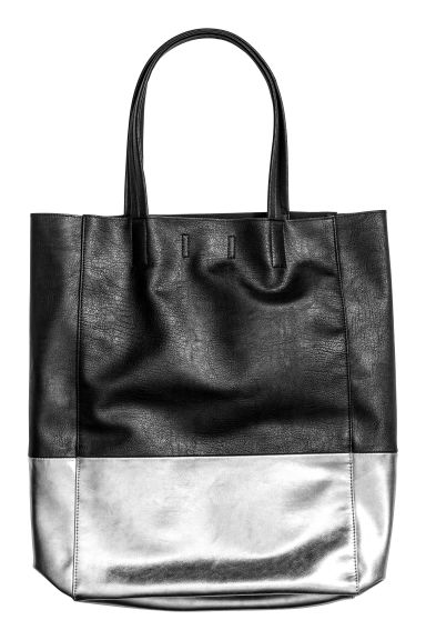 Shopper - Black/Silver - Ladies | H&M