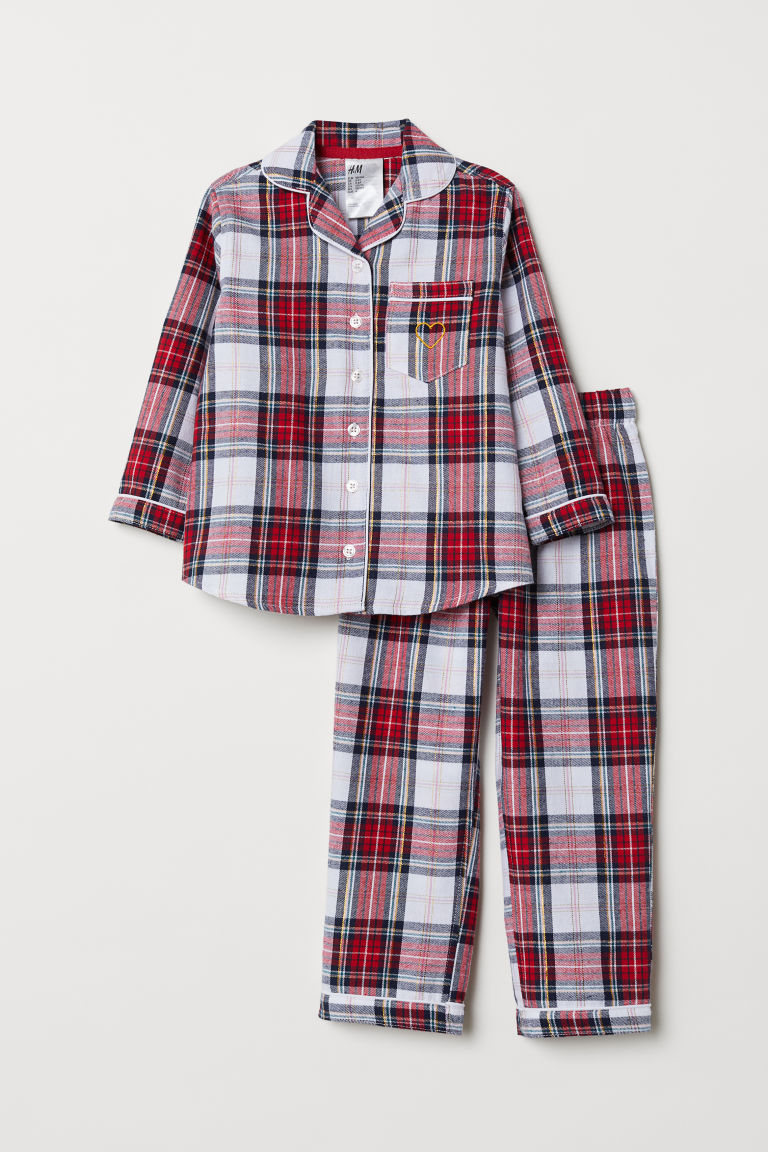 Pyjamas - Red/Checked - Kids | H&M