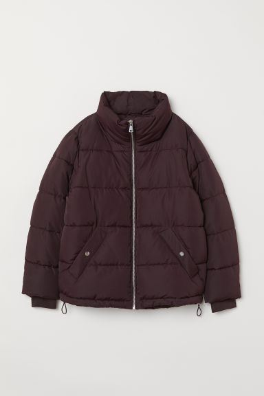 Padded jacket - Burgundy - Ladies | H&M