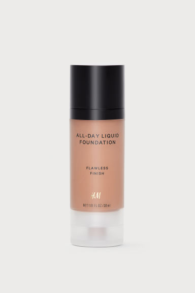 All-Day Flüssige Foundation - Chestnut - Ladies | H&M AT