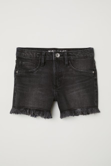 Shorts in denim High