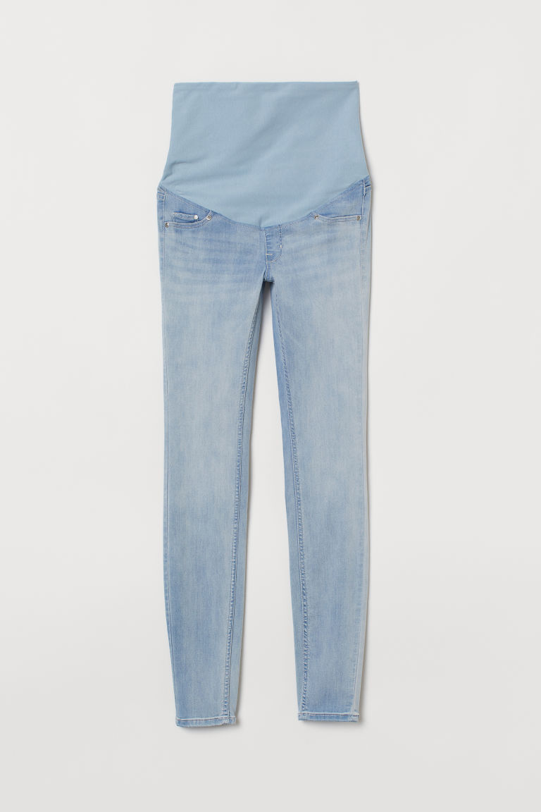 MAMA Super Skinny Jeans - Azul denim claro - Ladies | H&M MX