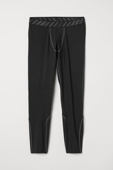 Sports tights - Black - Men | H&M