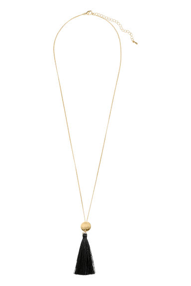 Long necklace - Gold-coloured - Ladies | H&M IE