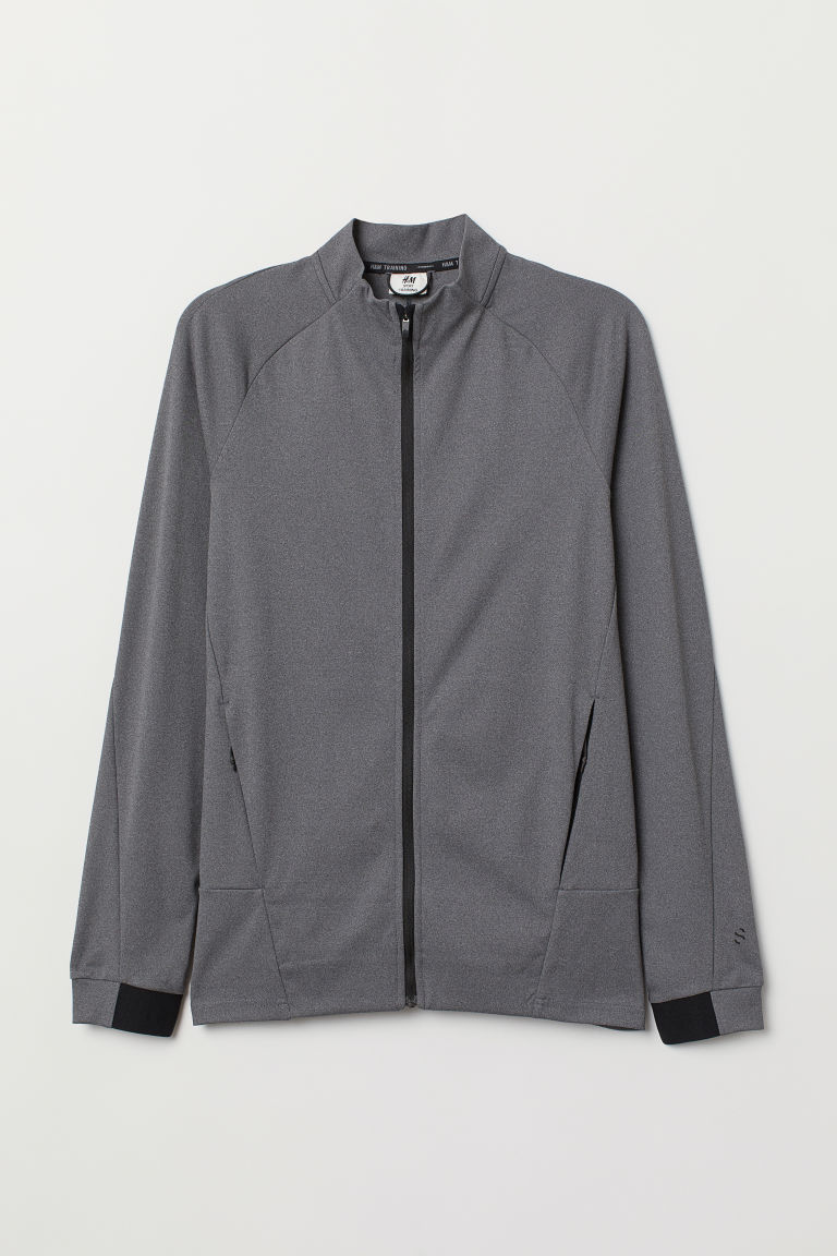 Sports jacket - Dark grey marl - Men | H&M CN
