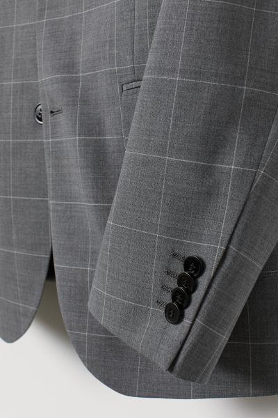 H&M - Wool-blend jacket Slim Fit - 6