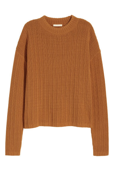 Pullover a coste - Cammello - DONNA | H&M IT