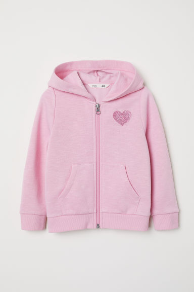 Hooded jacket - Light pink - Kids | H&M