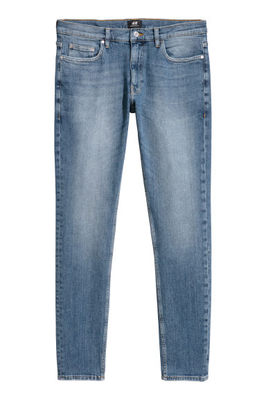 Super Skinny Jeans - Denim blue - Men | H&M CN