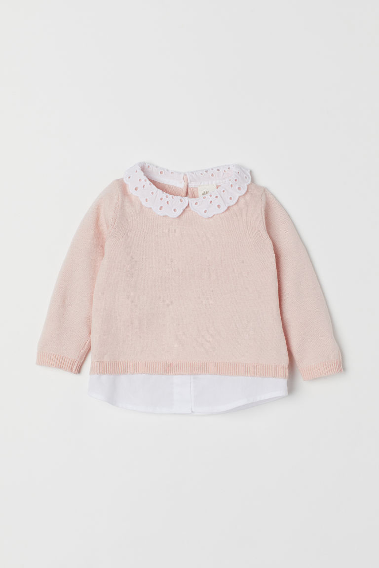 Feinstrickpullover - Puderrosa - Kids | H&M AT