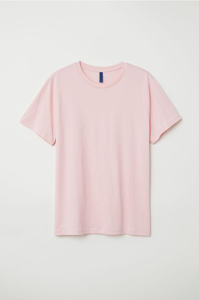 f4717d4920f80 Camiseta - Rosa claro - HOMBRE