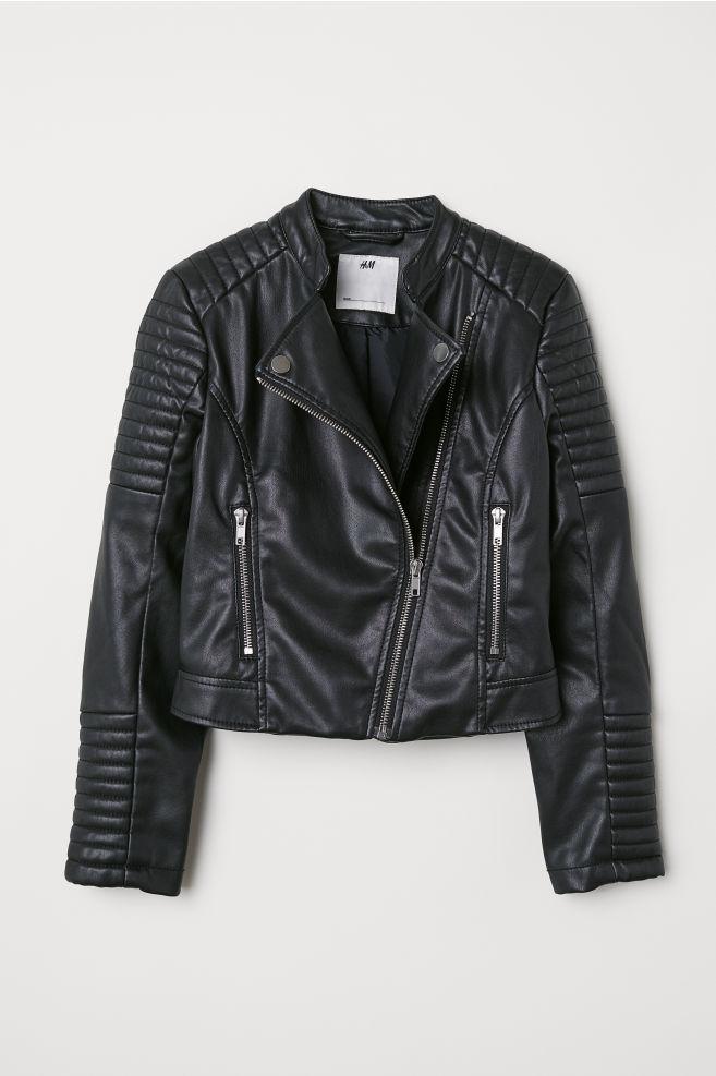 a5208d4be880 Biker Jacket - Black - Kids