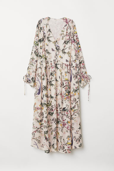 Patterned dress - White/Floral - Ladies | H&M
