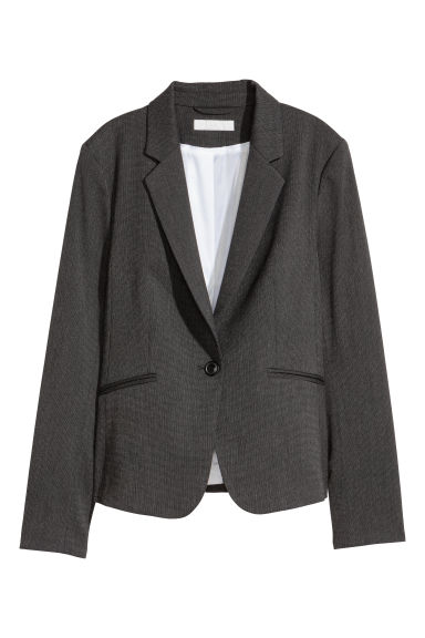 Fitted jacket - Grey -  | H&M GB