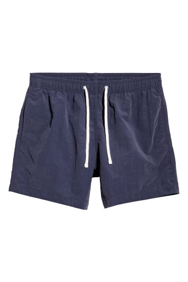 Short swim shorts - Dark blue -  | H&M GB