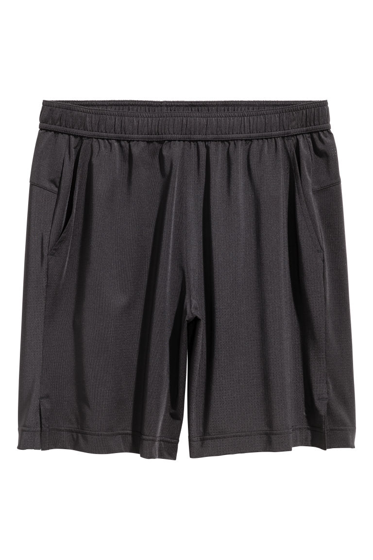 Short sports shorts - Black - Men | H&M