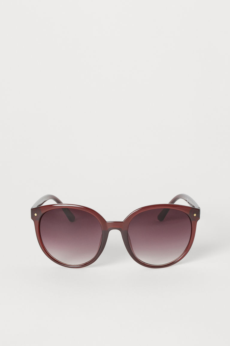 Sunglasses - Burgundy - Ladies | H&M GB
