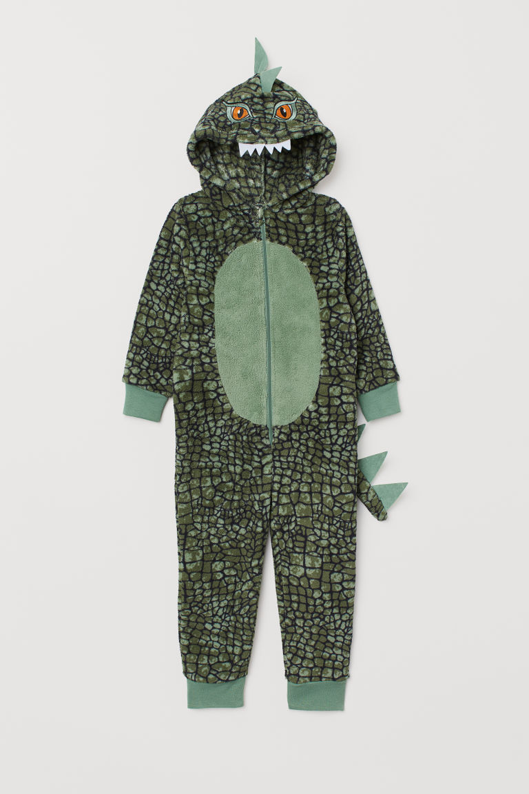 Costume da drago - Verde scuro/dinosauro - BAMBINO | H&M IT