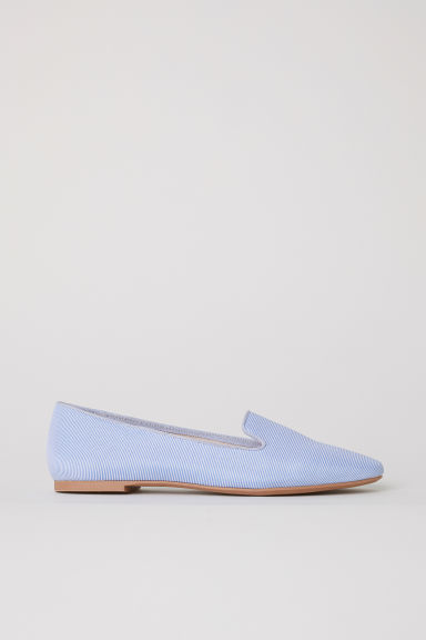 Loafers - Wit/blauw gestreept -  | H&M BE