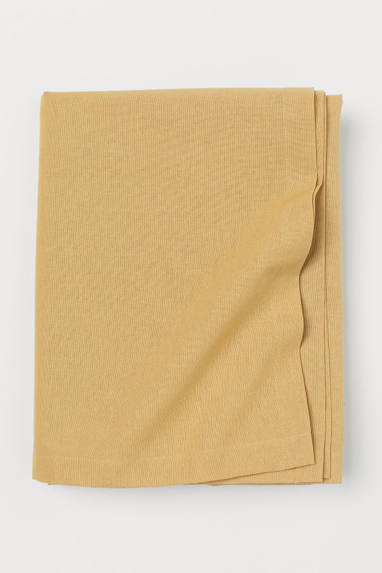 Cotton tablecloth - Beige - Home All | H&M CN