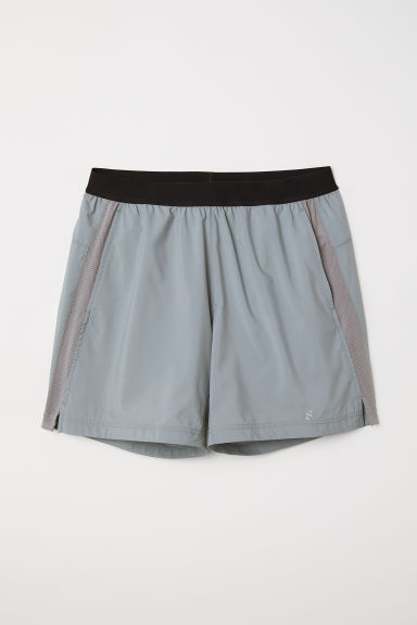 Ultra-light running shorts - Grey -  | H&M CN
