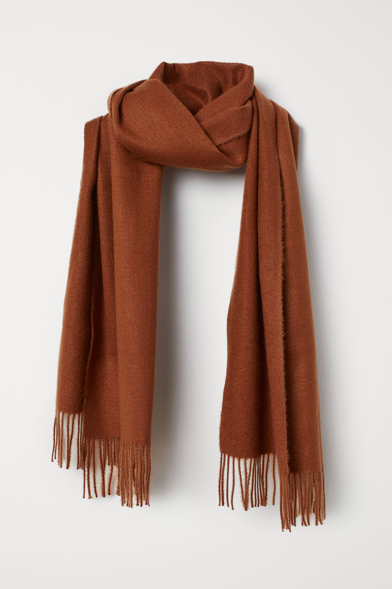 Scarf - Brown - Ladies | H&M CN