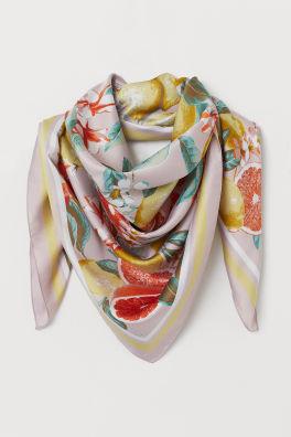 ab0bd274931b Шарфы женские | Палантины, платки, шарфы снуд | H&M RU