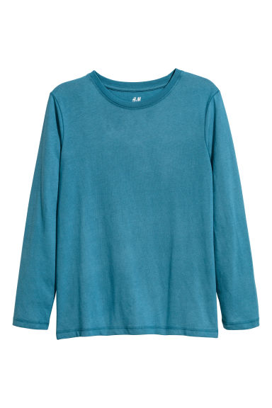 Jersey top - Petrol blue - Kids | H&M