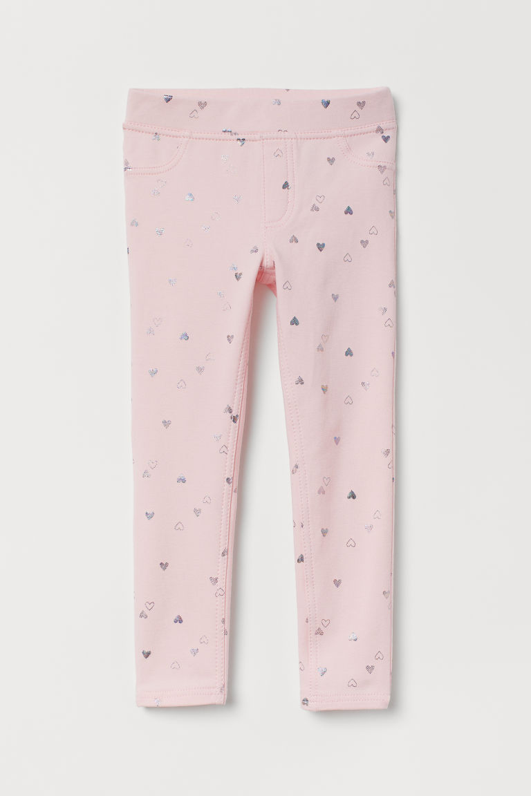 Treggings - Light pink/Hearts -  | H&M GB