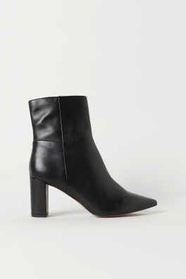 Bottines à talon bloc d363866250bb
