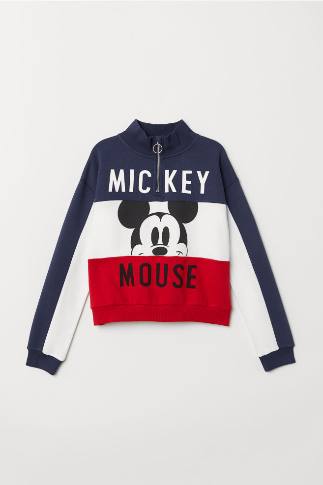 514ca2e2e Sweatshirt with Printed Design - Red/Mickey Mouse - Kids | H&M ...