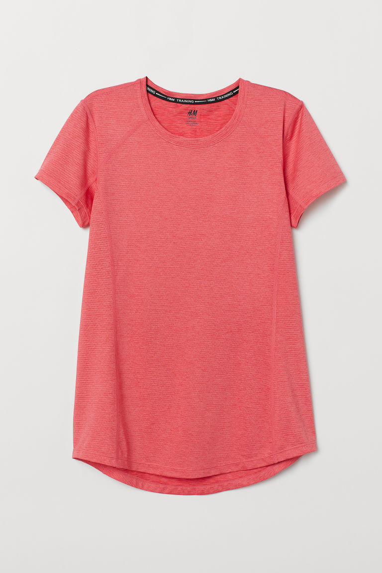 Sports top - Raspberry pink -  | H&M CN