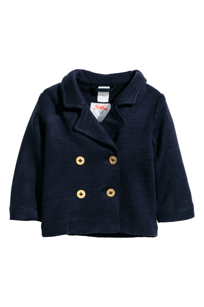 f79742957d4 Double-breasted cardigan