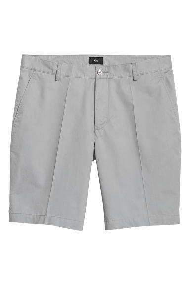 Short chino court - Gris-bleu clair -  | H&M BE