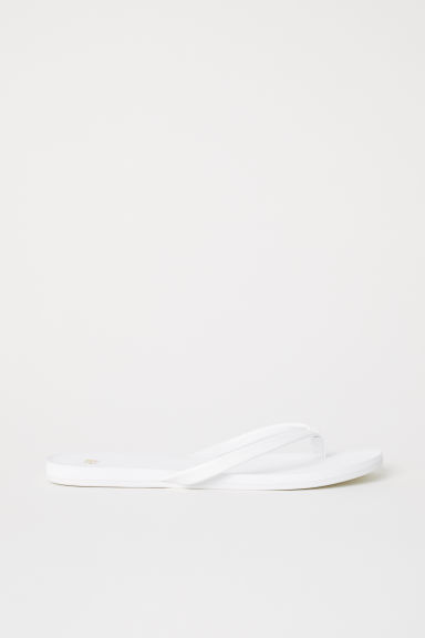Teenslippers - Wit - DAMES | H&M BE