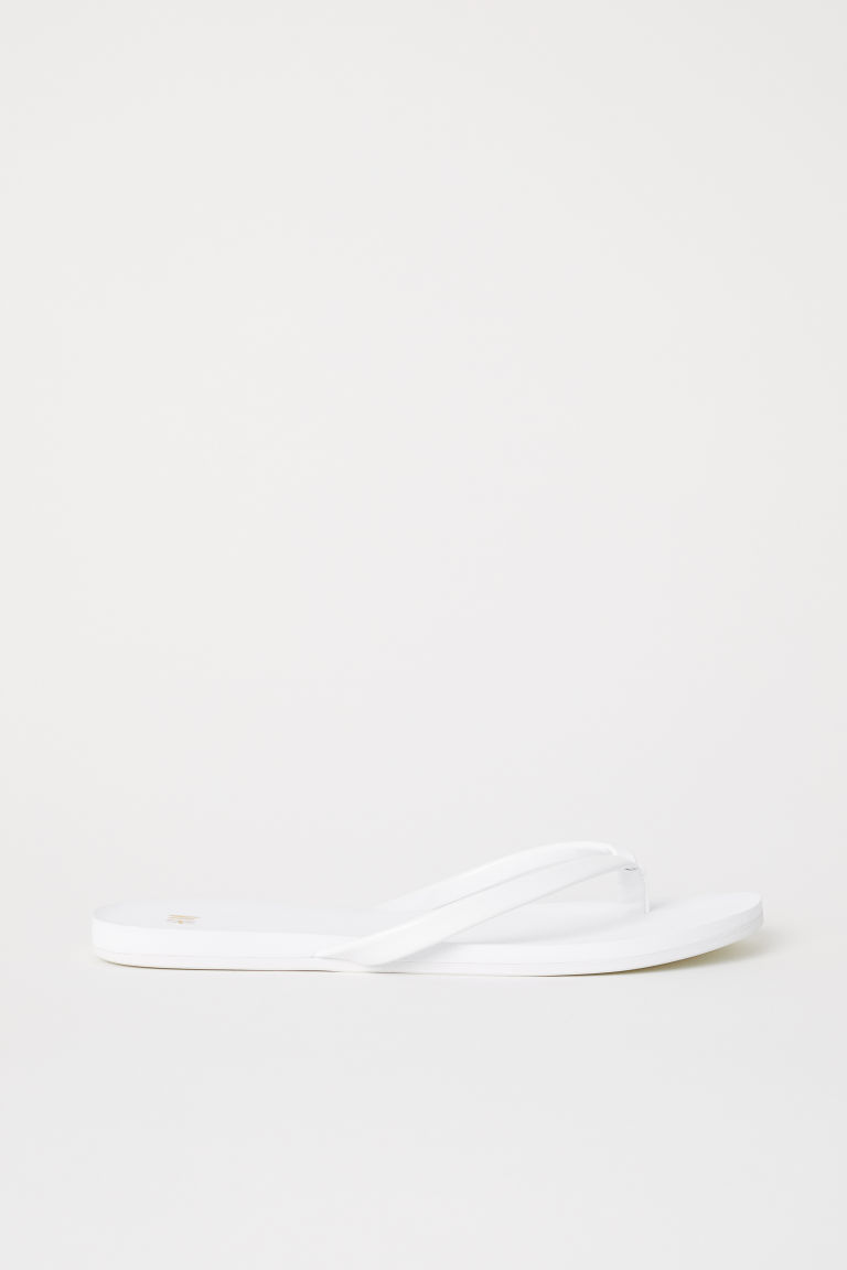 Flip-flops - White - Ladies | H&M