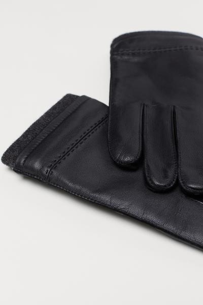 H&M - Gants en cuir - 2