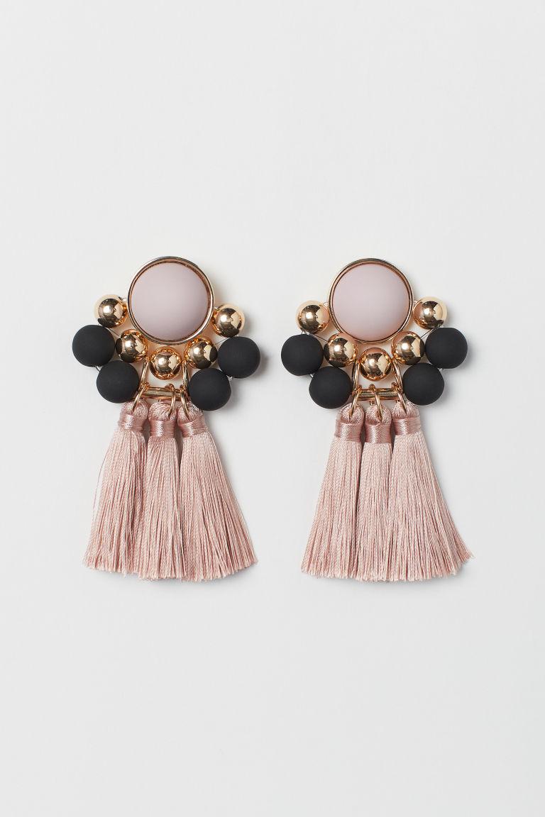 Earrings - Powder pink - Ladies | H&M CA