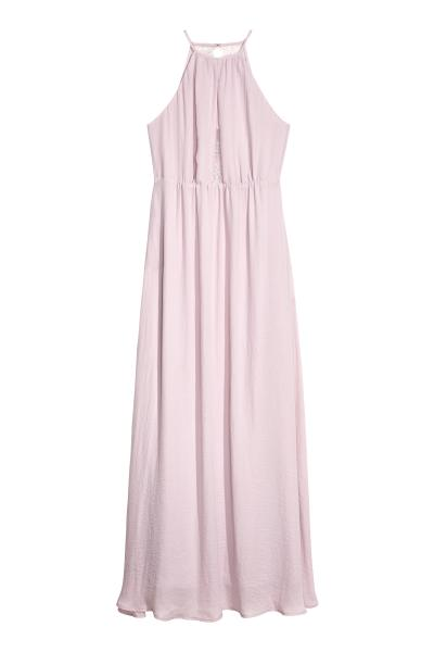 2a9ba827158 Long Dress with Lace Back - Light heather purple - Ladies