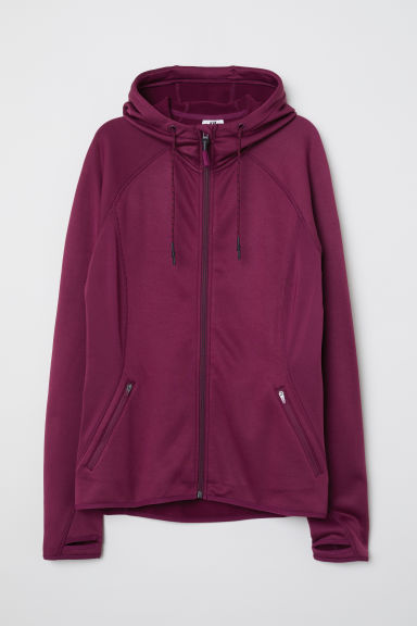 Outdoor jacket - Burgundy - Ladies | H&M CN