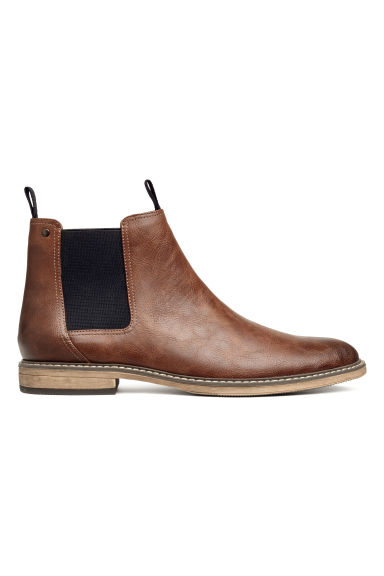 Bottines Chelsea - Marron - HOMME | H&M FR