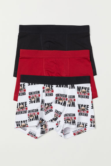 3-pack boxer shorts - Red - Kids | H&M